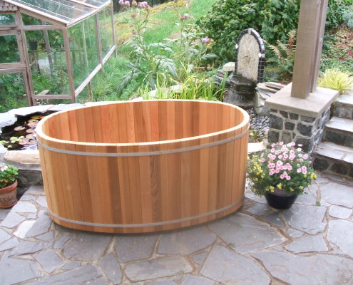 Japanese Style Wooden Soaking Tubs Forest Lumber Cooperage